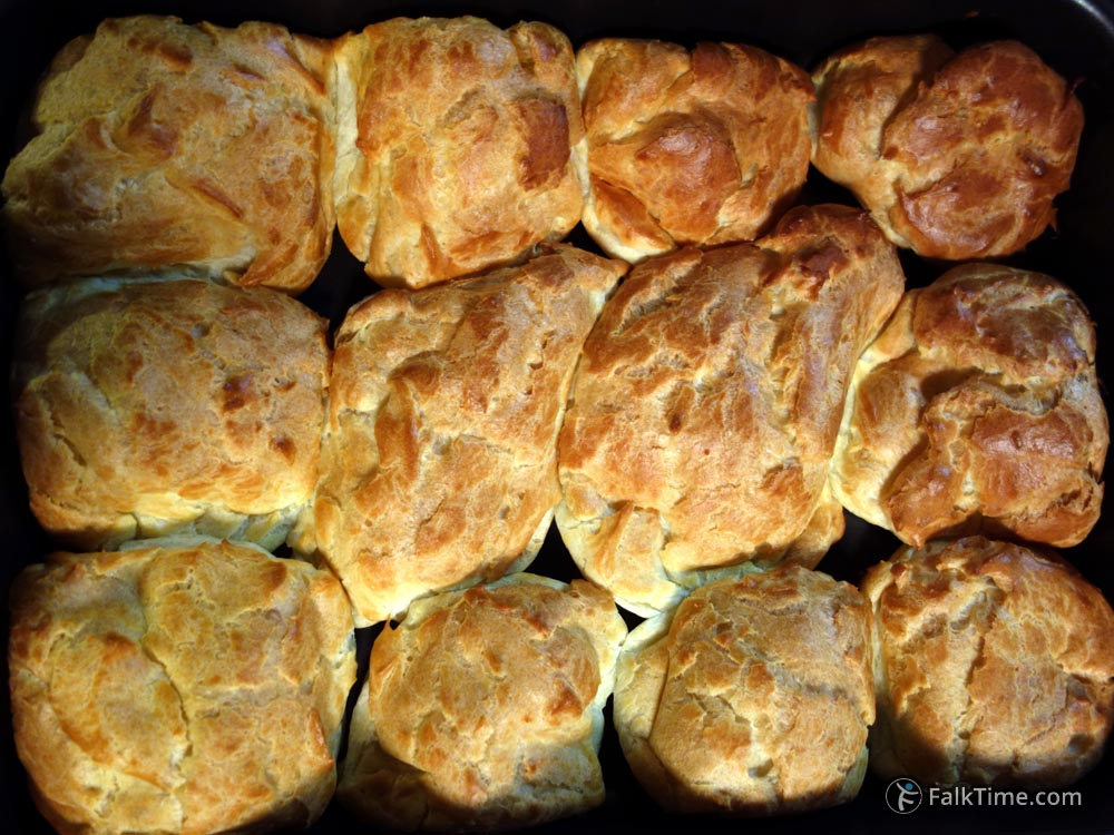 Choux pastry, buns