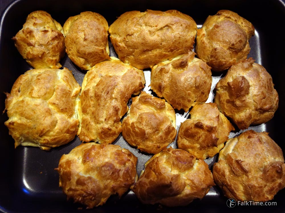 Choux pastry, easy baking