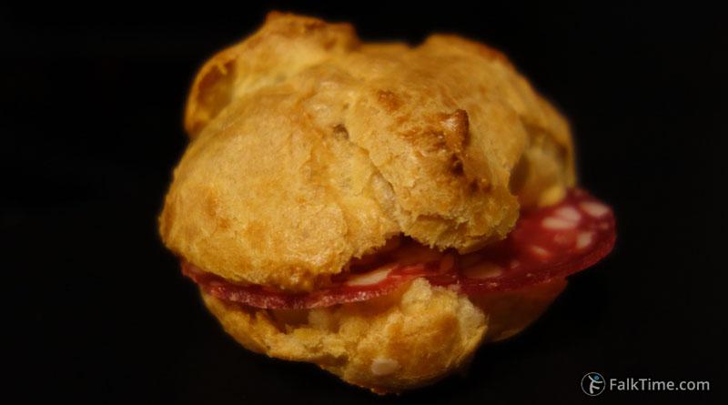 Savory choux pastry recipe