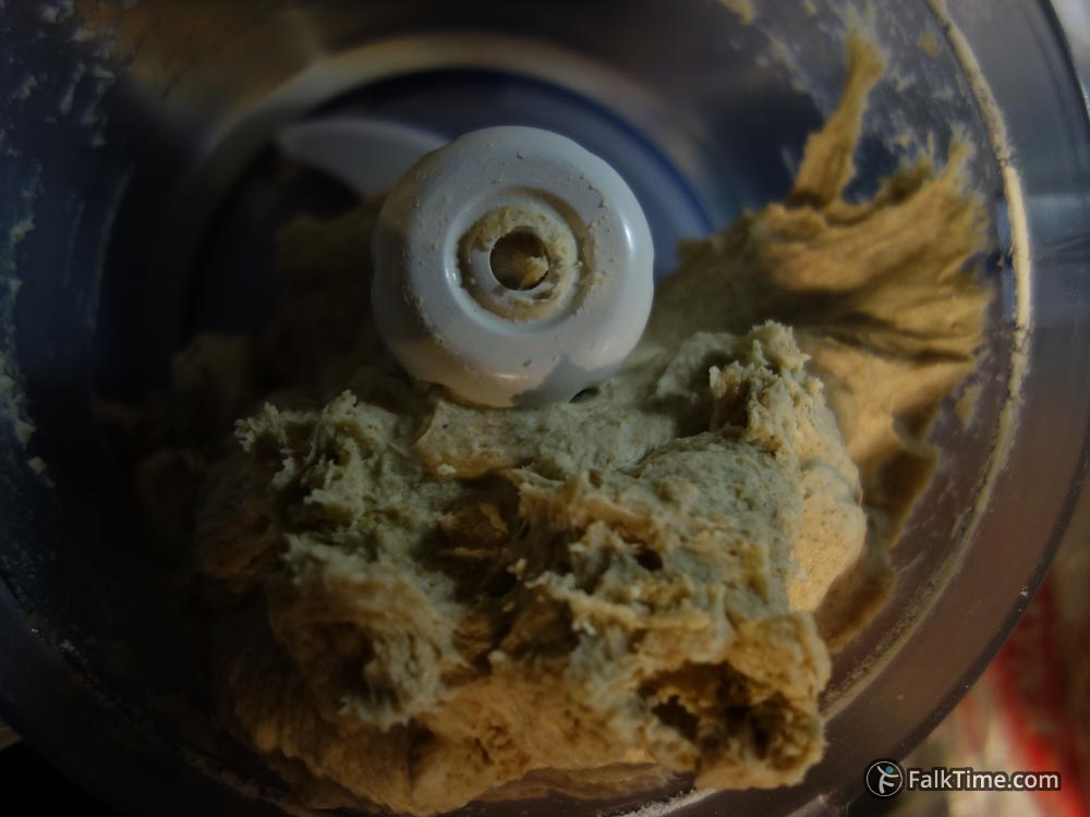 Wheat-rye dough