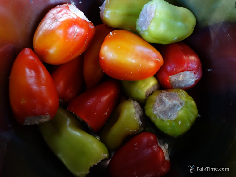 Stuffed bell peppers, recipe