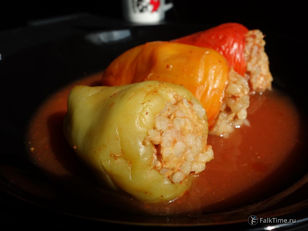 Dolma, stuffed bell peppers recipe