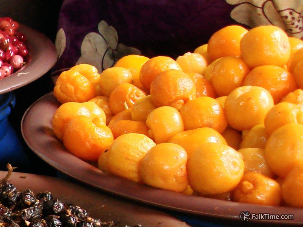 Salted lemons in Morocco