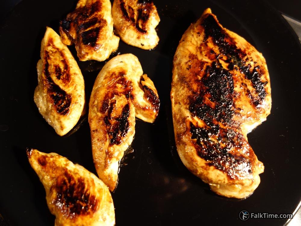 Just fried chicken